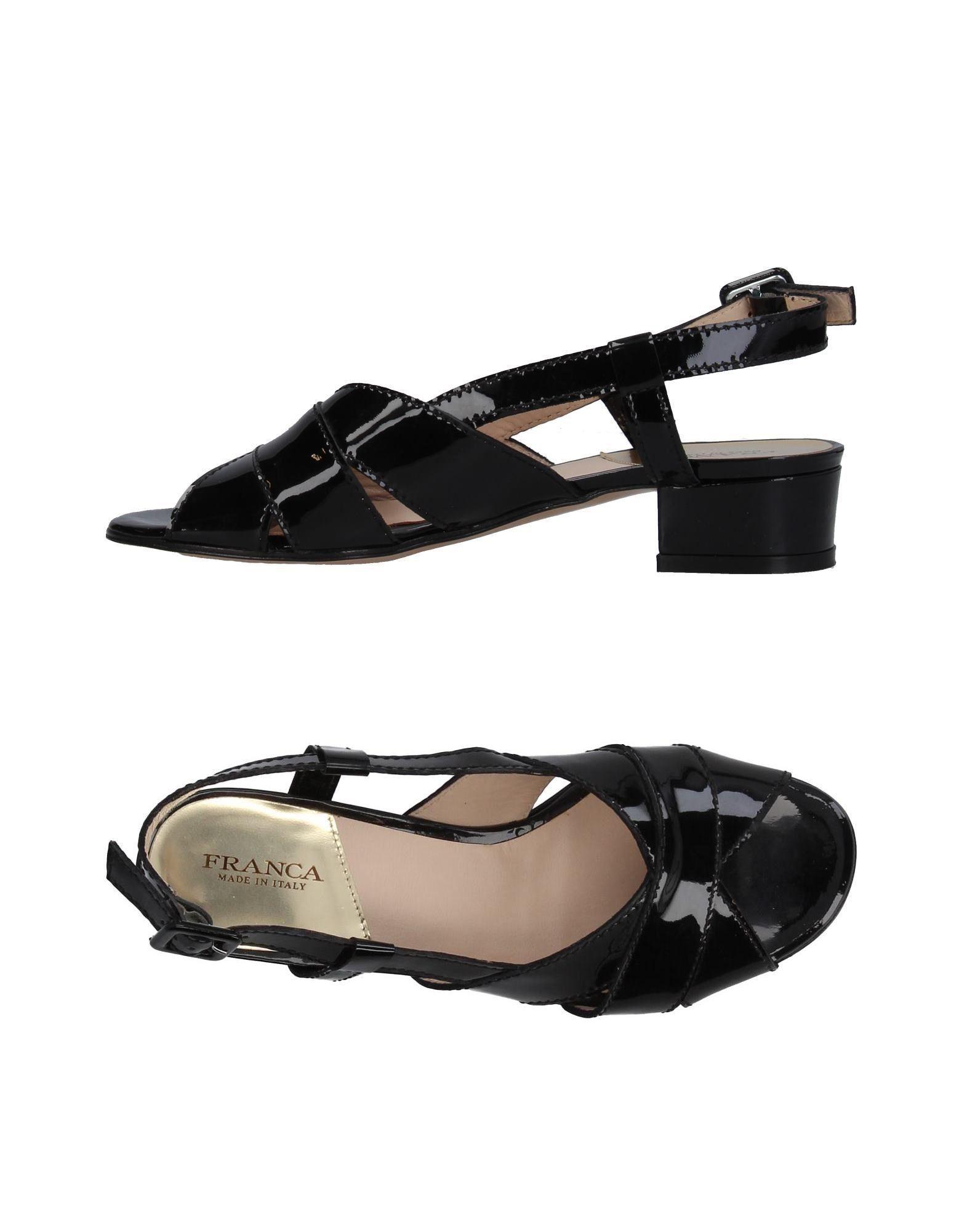 FRANCA Damen Sandale Farbe Schwarz Größe 6 jetztbilligerkaufen