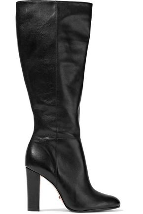 SCHUTZ Leather knee boots