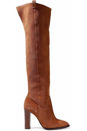 SCHUTZ Suede over-the-knee boots
