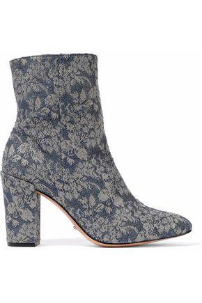 SCHUTZ Brocade ankle boots