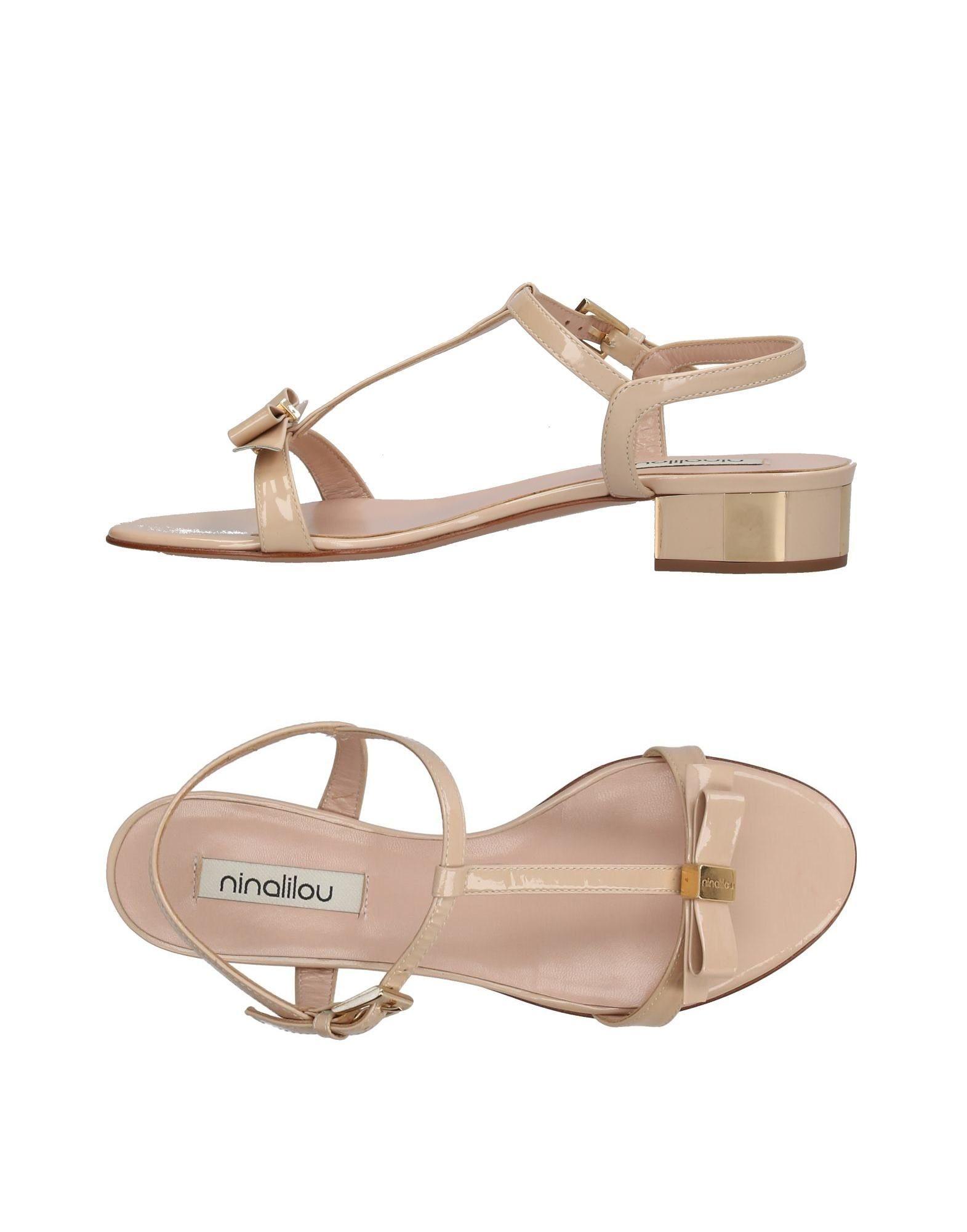 NINALILOU Damen Sandale Farbe Beige Größe 5 jetztbilligerkaufen