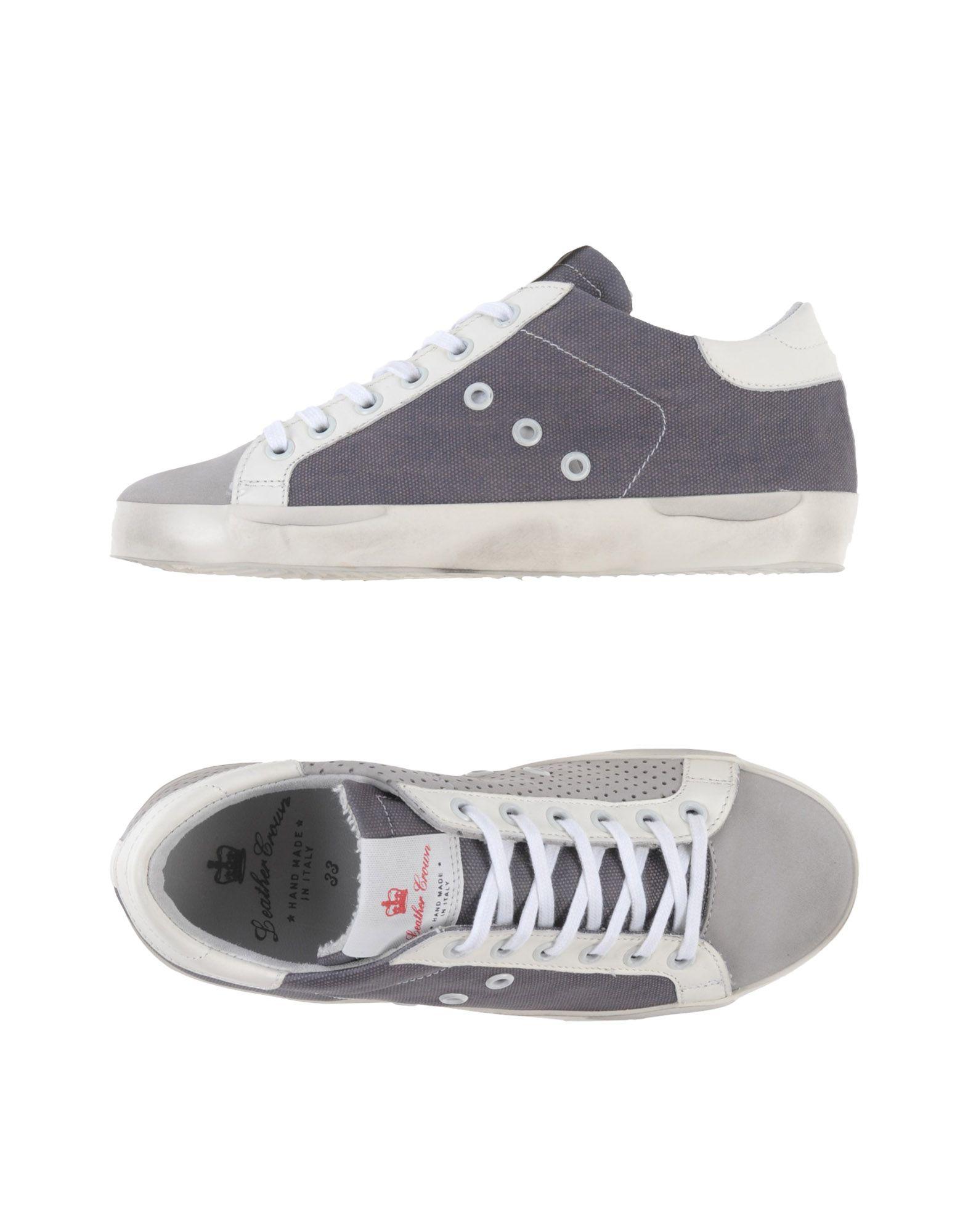 LEATHER CROWN Jungen 9-16 jahre Low Sneakers & Tennisschuhe Farbe Grau Größe 31 jetztbilligerkaufen