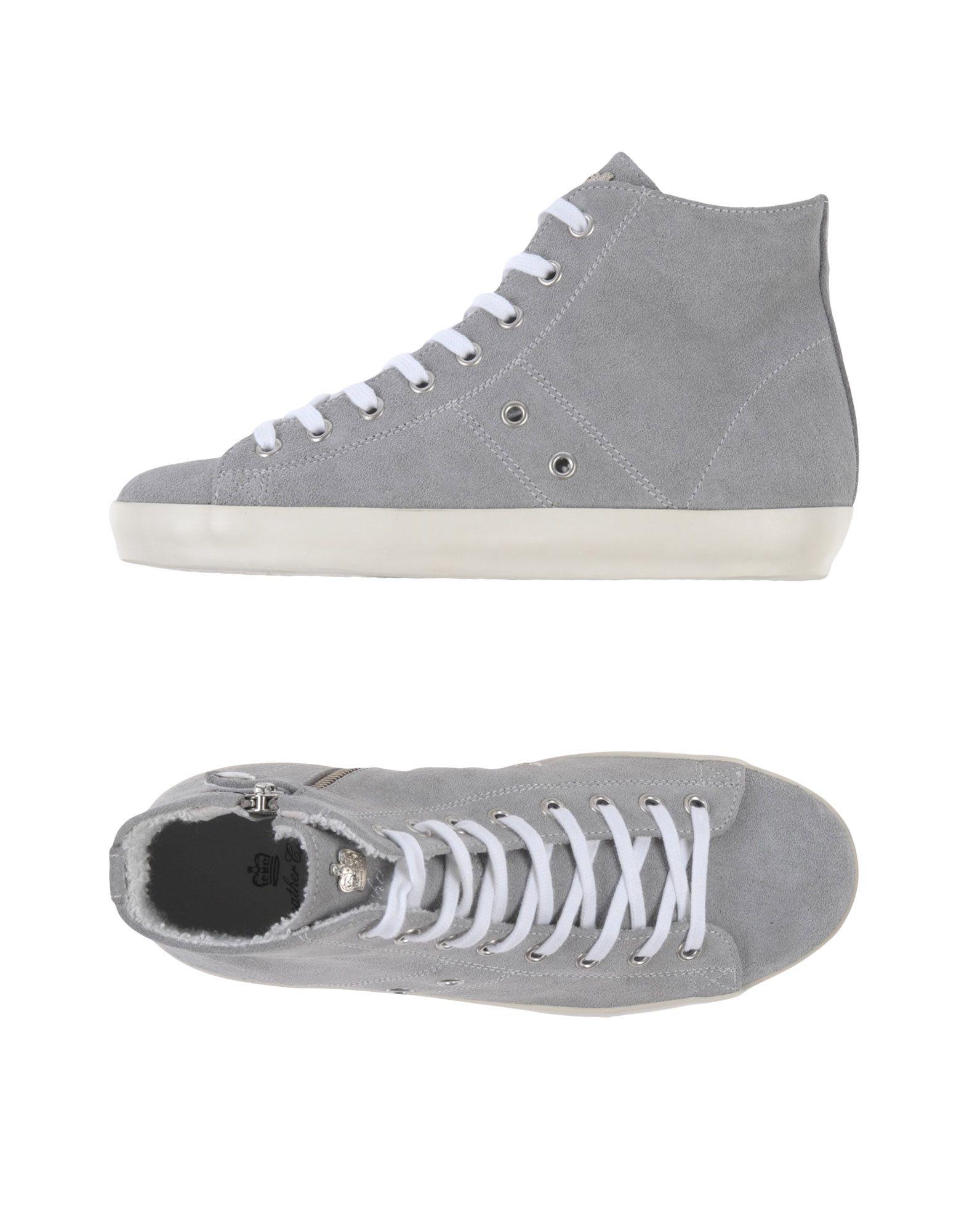 LEATHER CROWN Jungen 9-16 jahre High Sneakers & Tennisschuhe Farbe Grau Größe 17 jetztbilligerkaufen