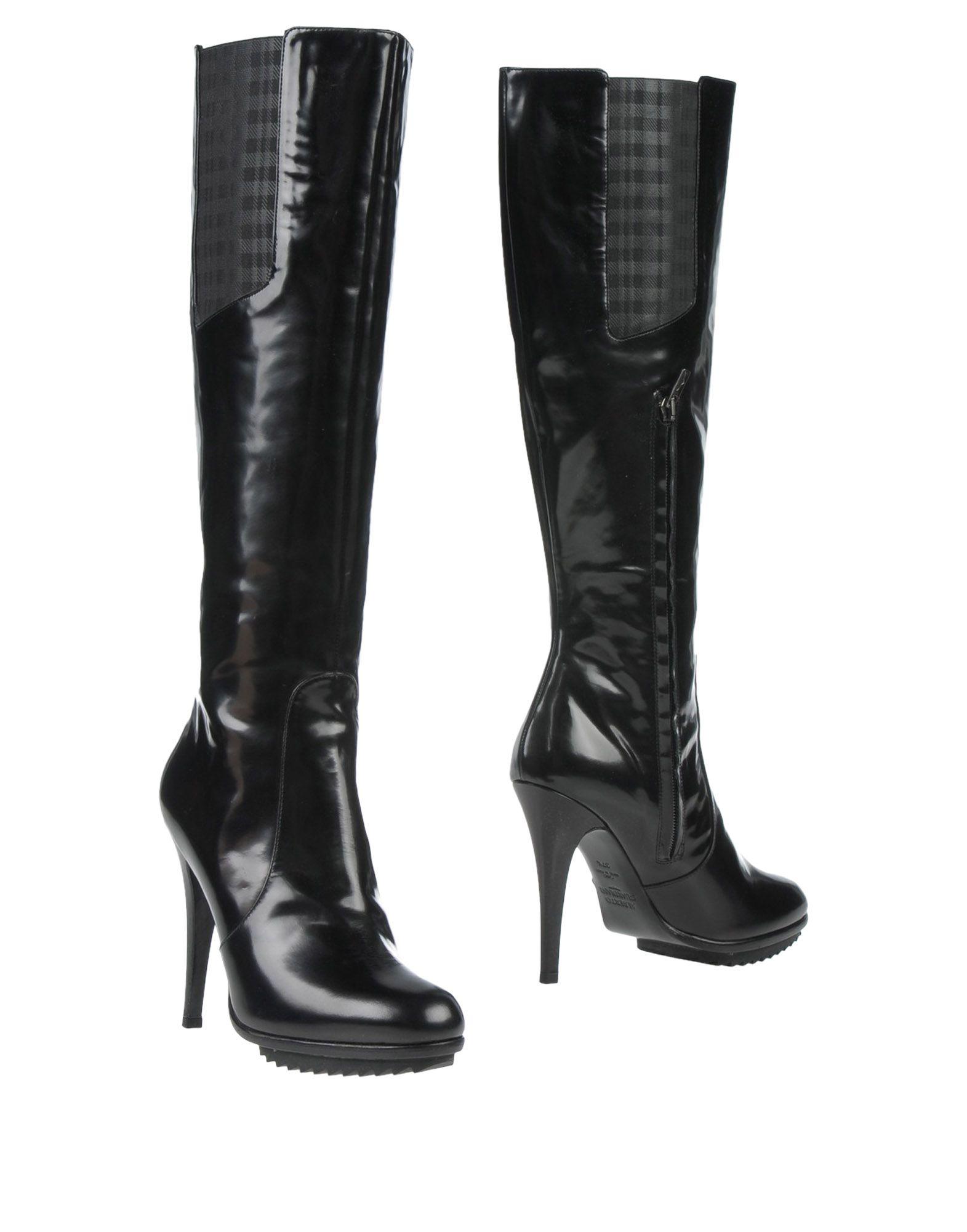 ALBERTO GUARDIANI Damen Stiefel Farbe Schwarz Größe 8 jetztbilligerkaufen