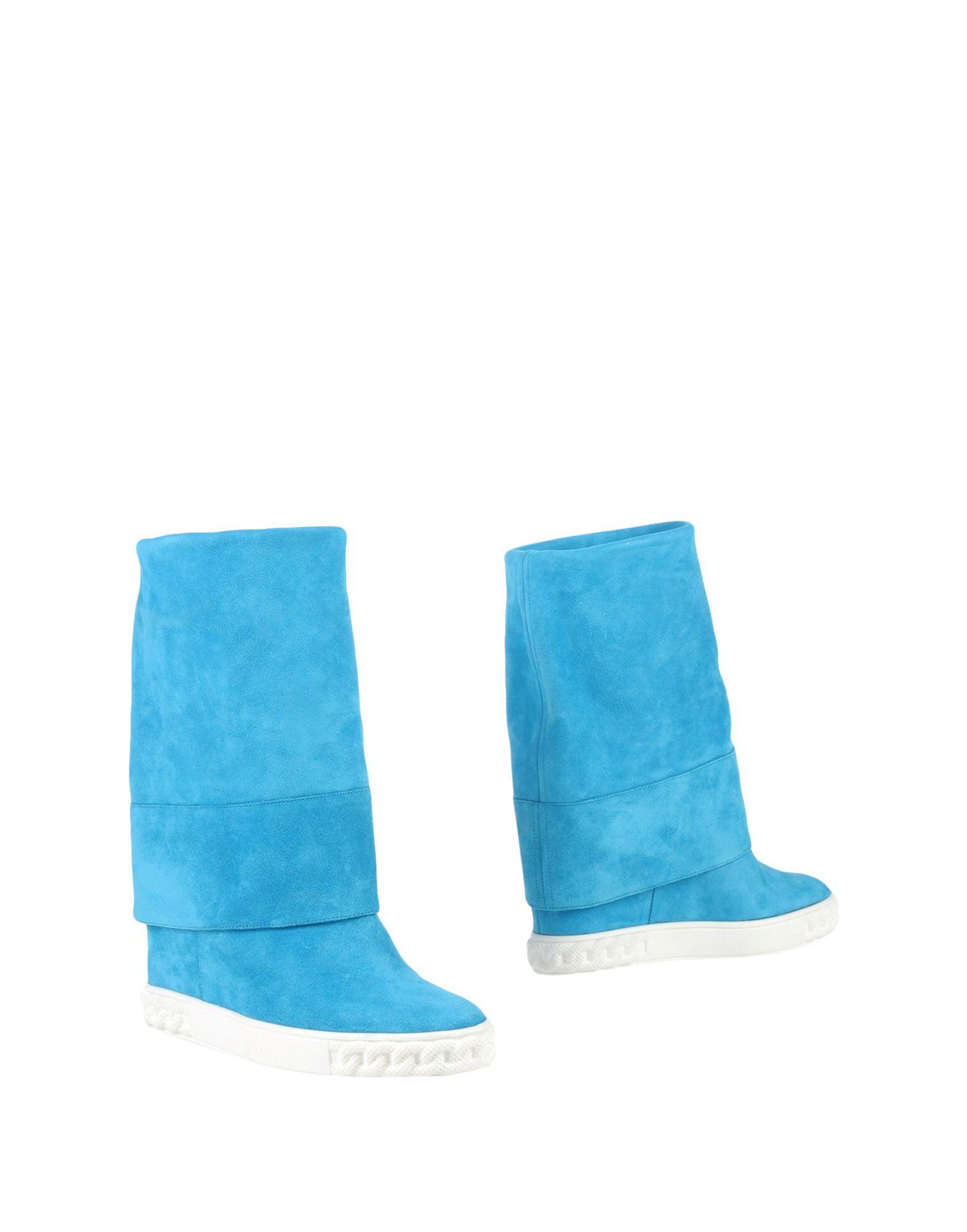CASADEI Damen Stiefelette Farbe Azurblau Größe 3 jetztbilligerkaufen