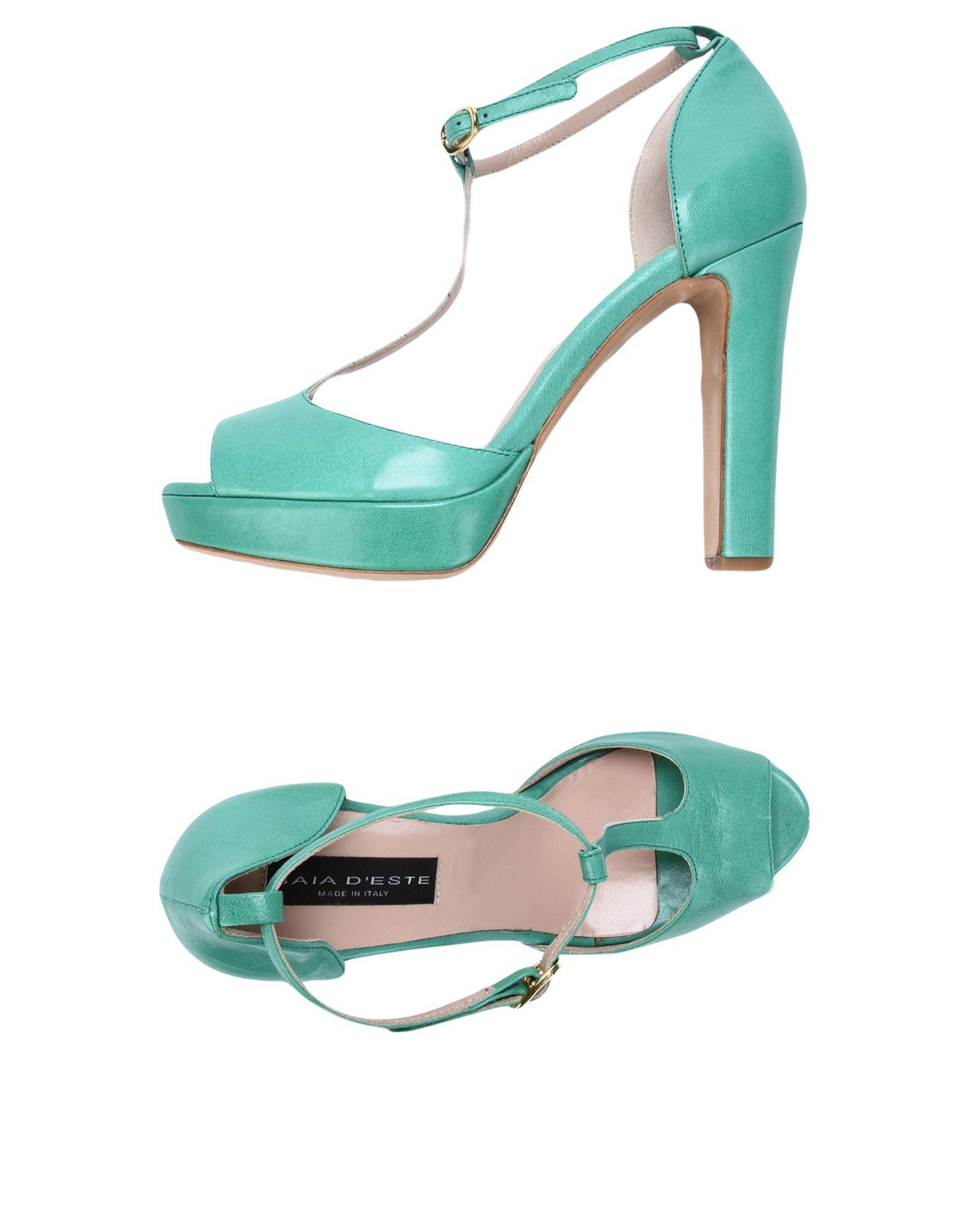 GAIA D´ESTE Damen Sandale Farbe Grün Größe 11 jetztbilligerkaufen