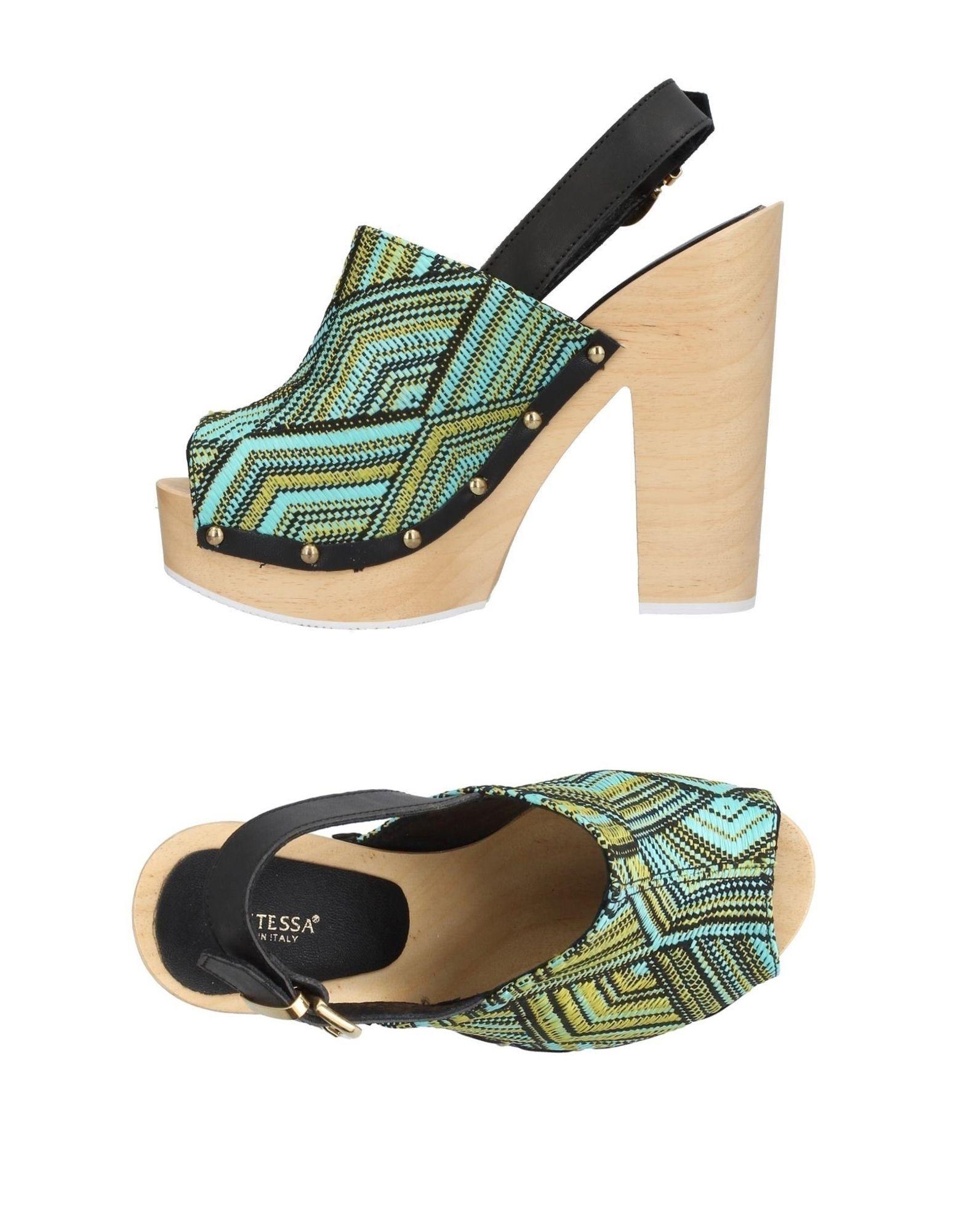 KONTESSA Damen Sandale Farbe Säuregrün Größe 9 jetztbilligerkaufen