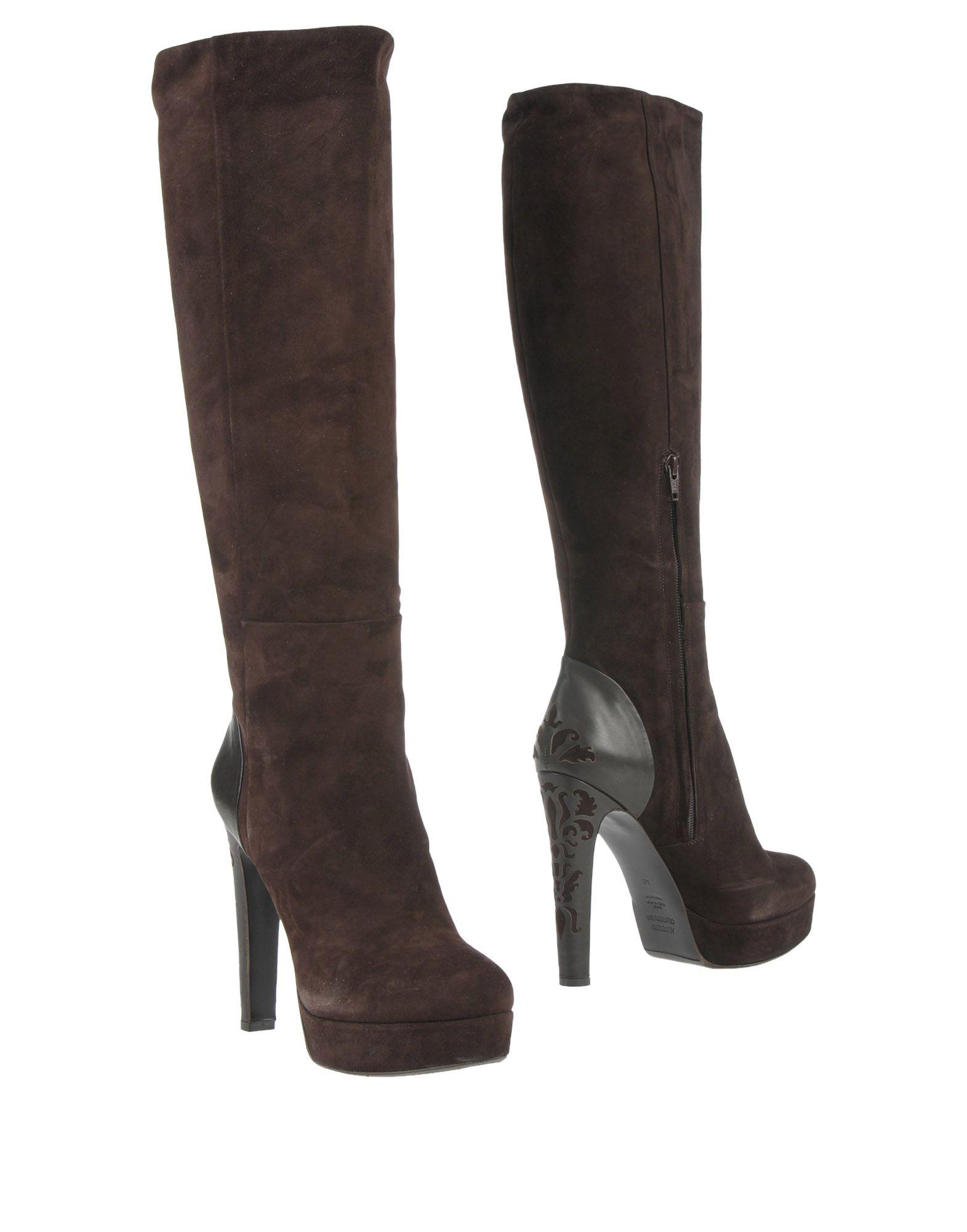 ALBERTO GUARDIANI Damen Stiefel Farbe Dunkelbraun Größe 13 jetztbilligerkaufen