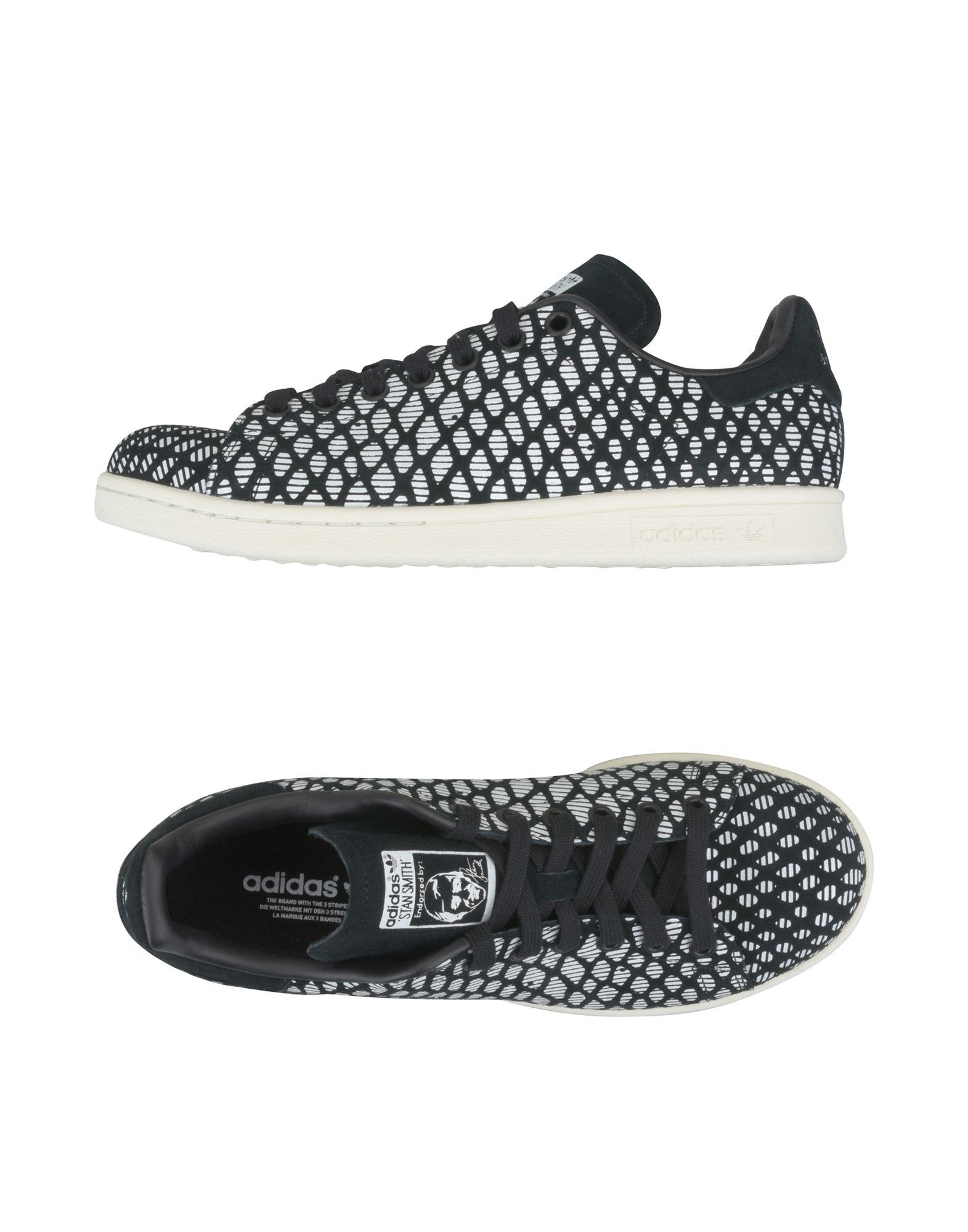 ADIDAS ORIGINALS Damen Low Sneakers & Tennisschuhe Farbe Schwarz Größe 9