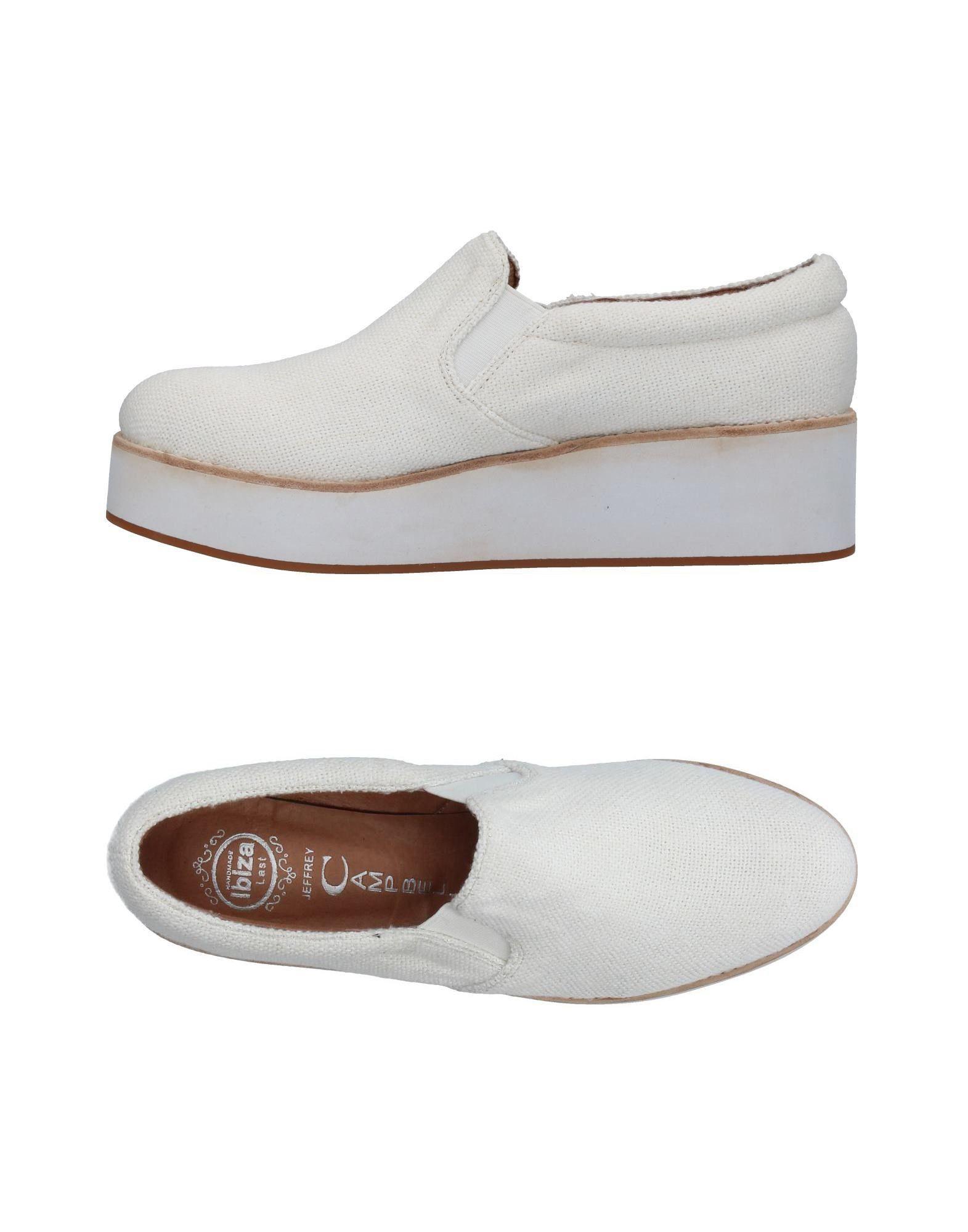 JEFFREY CAMPBELL Damen Low Sneakers & Tennisschuhe Farbe Weiß Größe 15 jetztbilligerkaufen