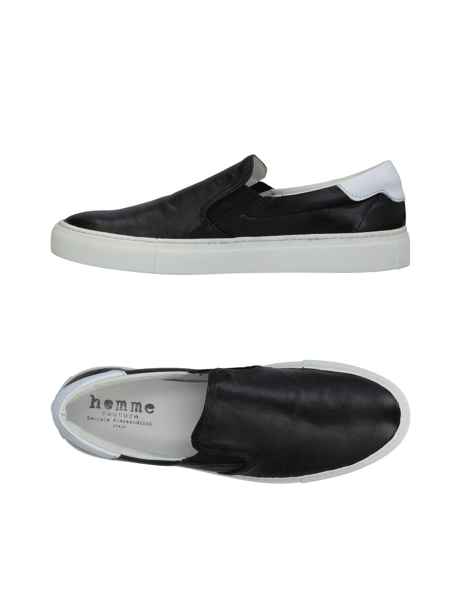 DANIELE ALESSANDRINI HOMME Herren Low Sneakers & Tennisschuhe Farbe Schwarz Größe 11 jetztbilligerkaufen