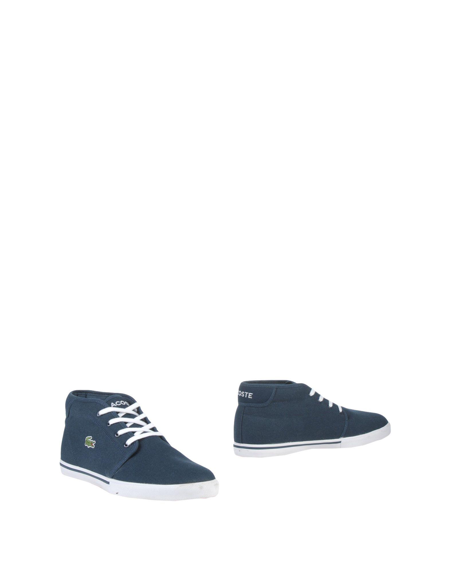 LACOSTE Полусапоги и высокие ботинки ботинки swims ботинки без каблука