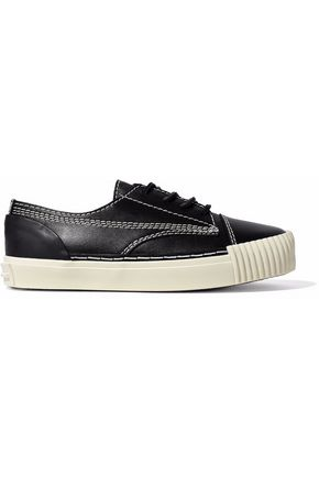 ALEXANDER WANG Stitched leather sneakers