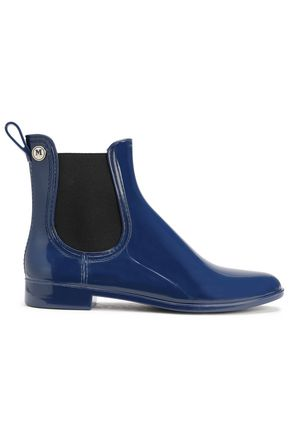M MISSONI Glossed-rubber rain boots