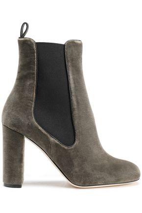 M MISSONI Velvet ankle boots