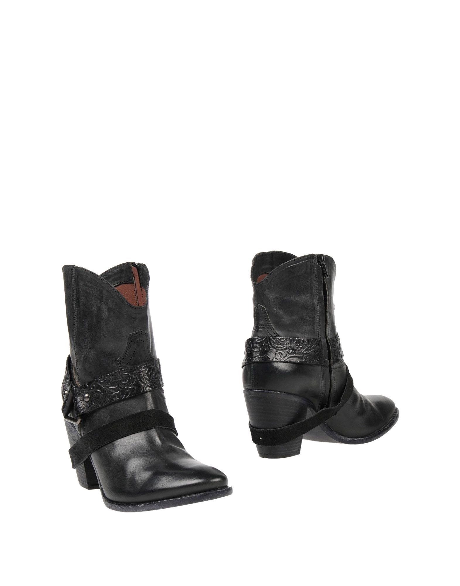 GUESS Полусапоги и высокие ботинки полусапоги guess flril4 lea10 blkdb