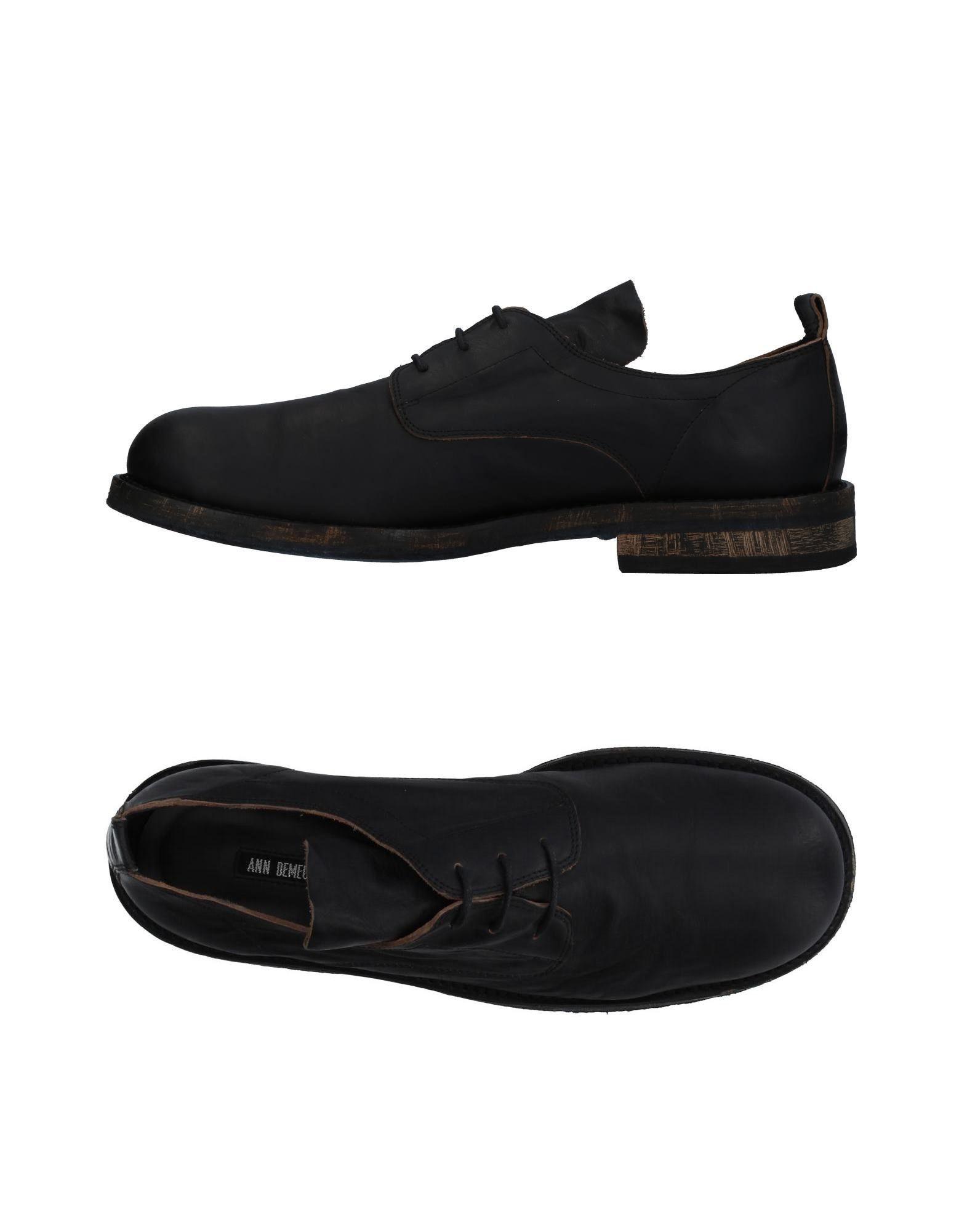 ANN DEMEULEMEESTER Обувь на шнурках