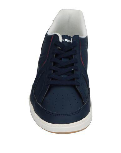 LE COQ SPORTIF Jungen Low Sneakers & Tennisschuhe Dunkelblau Größe 33 Gewebefasern