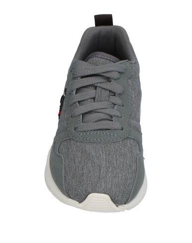 LE COQ SPORTIF Jungen Low Sneakers & Tennisschuhe Grau Größe 28 Gewebefasern