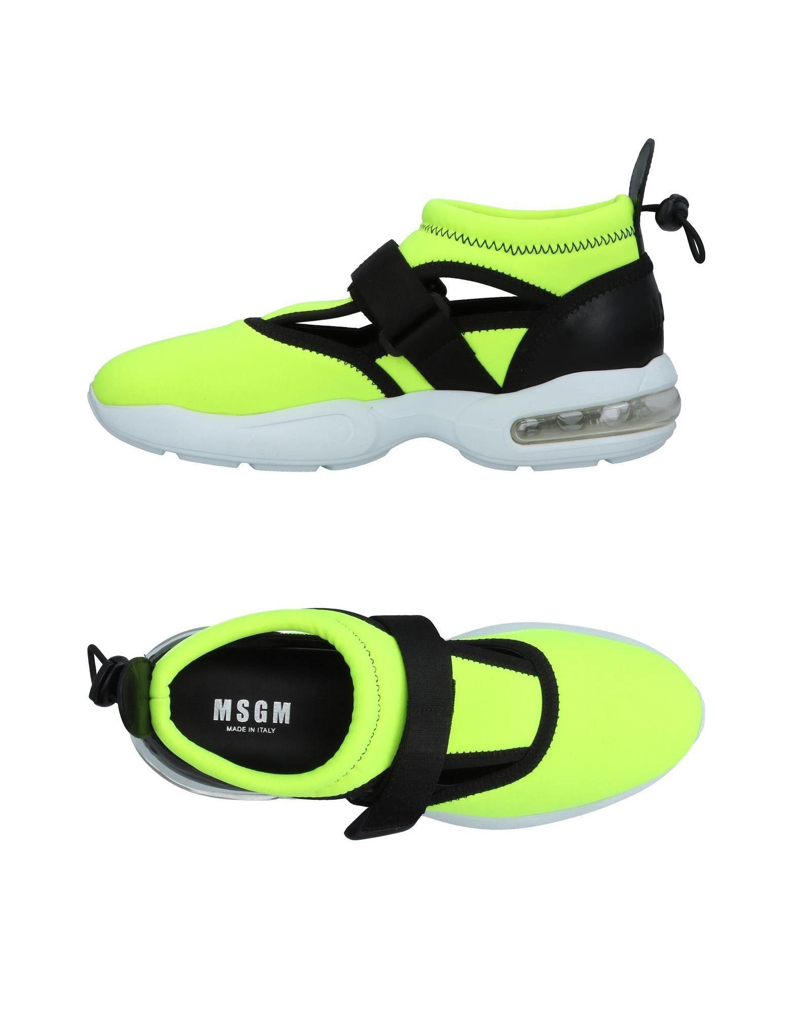 цена на MSGM Высокие кеды и кроссовки