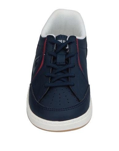 LE COQ SPORTIF Jungen Low Sneakers & Tennisschuhe Dunkelblau Größe 25 Gewebefasern