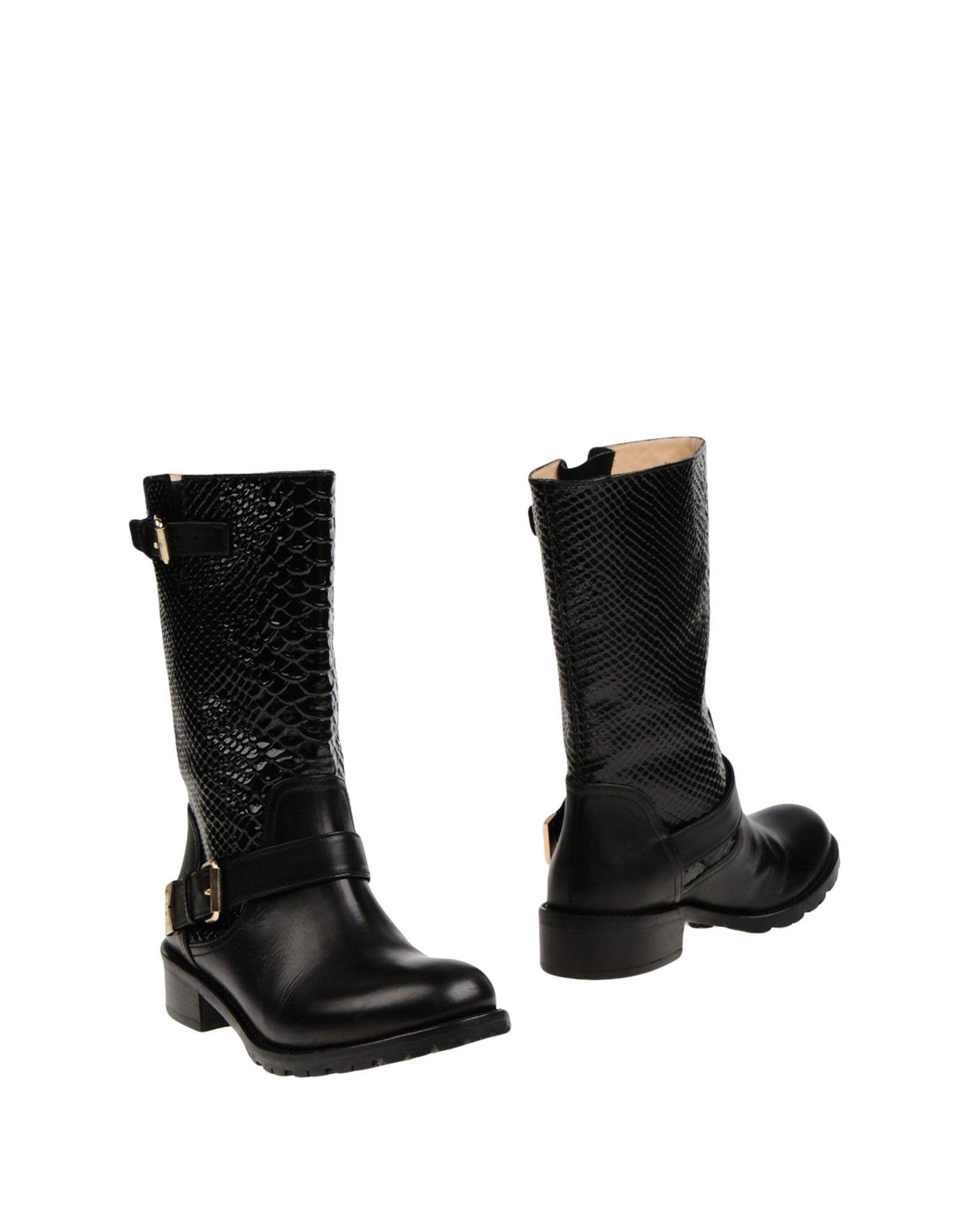 ELISABETTA FRANCHI Полусапоги и высокие ботинки цены онлайн