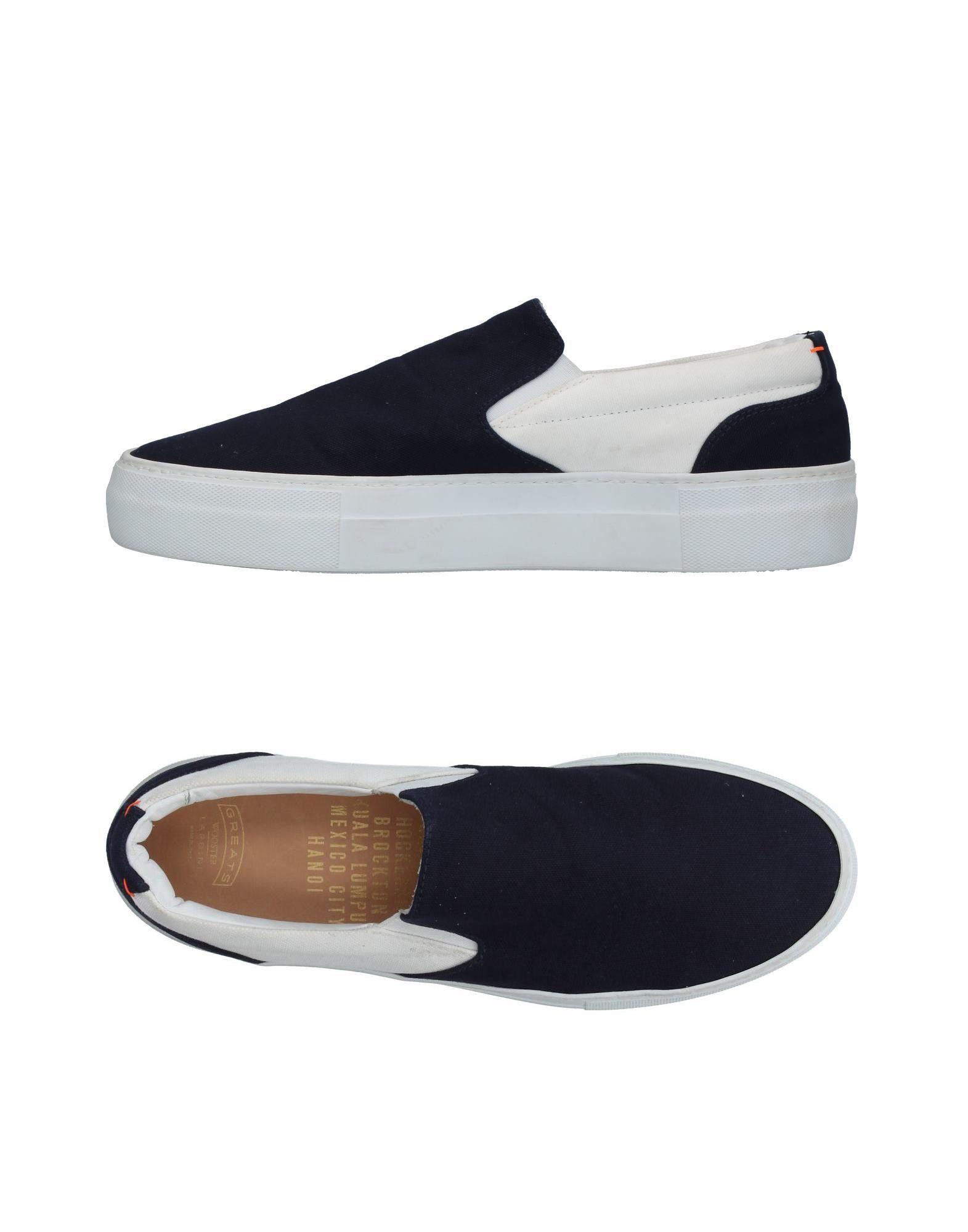 GREATS Sneakers in Dark Blue