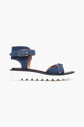 STELLA MCCARTNEY | Stella Mccartney Denim Sandals | Goxip