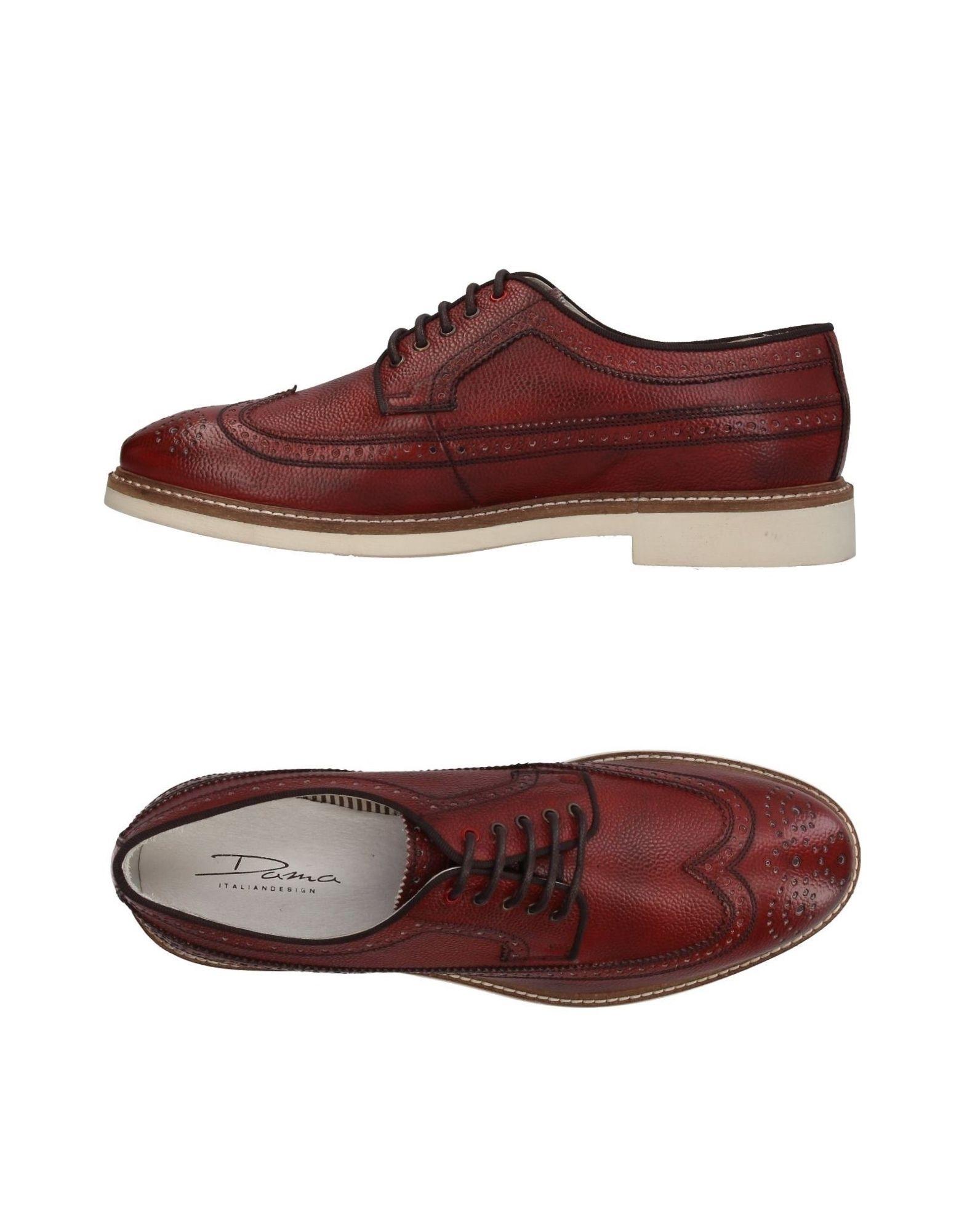 DAMA Обувь на шнурках dama обувь на шнурках