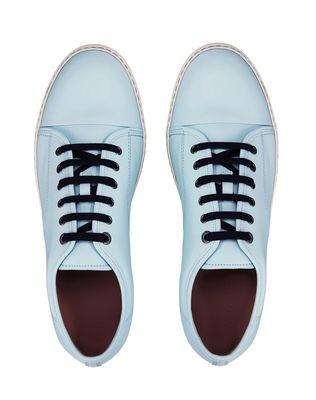 LANVIN DBB1 MATTE CALFSKIN LEATHER SNEAKER Sneakers U a