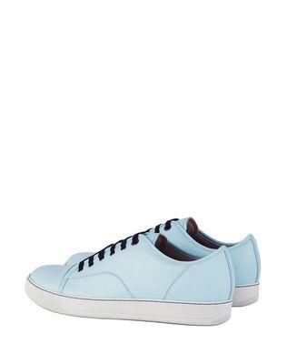 LANVIN DBB1 MATTE CALFSKIN LEATHER SNEAKER Sneakers U d