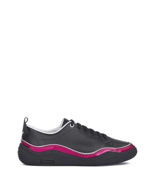 lanvin nappa leather diving sneaker men