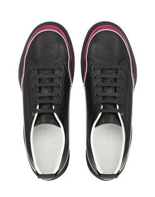 LANVIN NAPPA LEATHER DIVING SNEAKER Sneakers U a