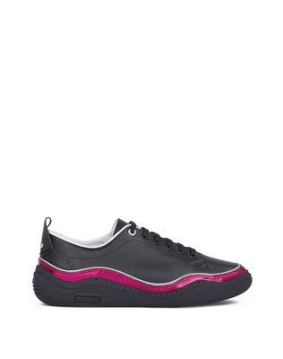 LANVIN NAPPA LEATHER DIVING SNEAKER Sneakers U f