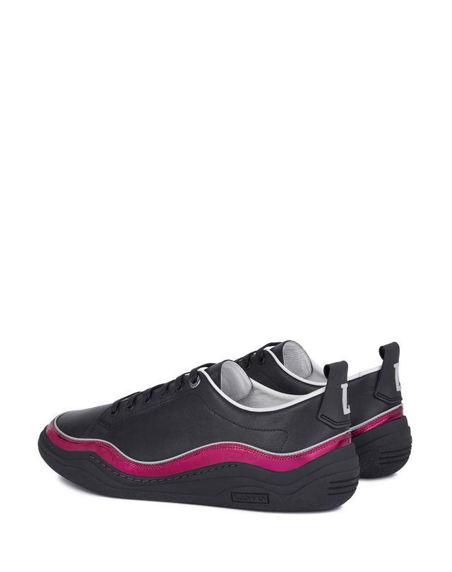LANVIN NAPPA LEATHER DIVING SNEAKER Sneakers U d