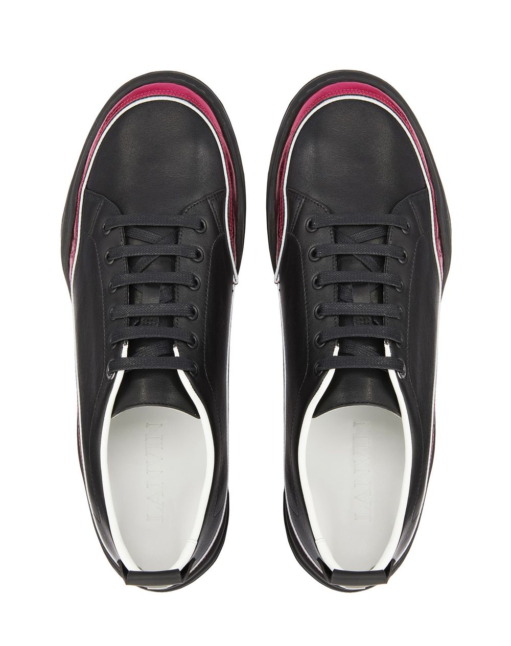 NAPPA LEATHER DIVING SNEAKER - Lanvin