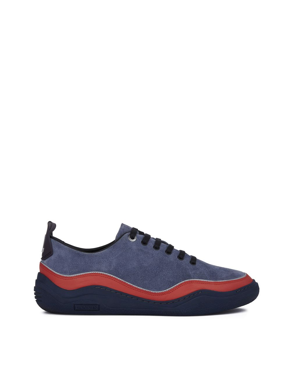 SUEDE CALFSKIN LEATHER DIVING SNEAKER - Lanvin