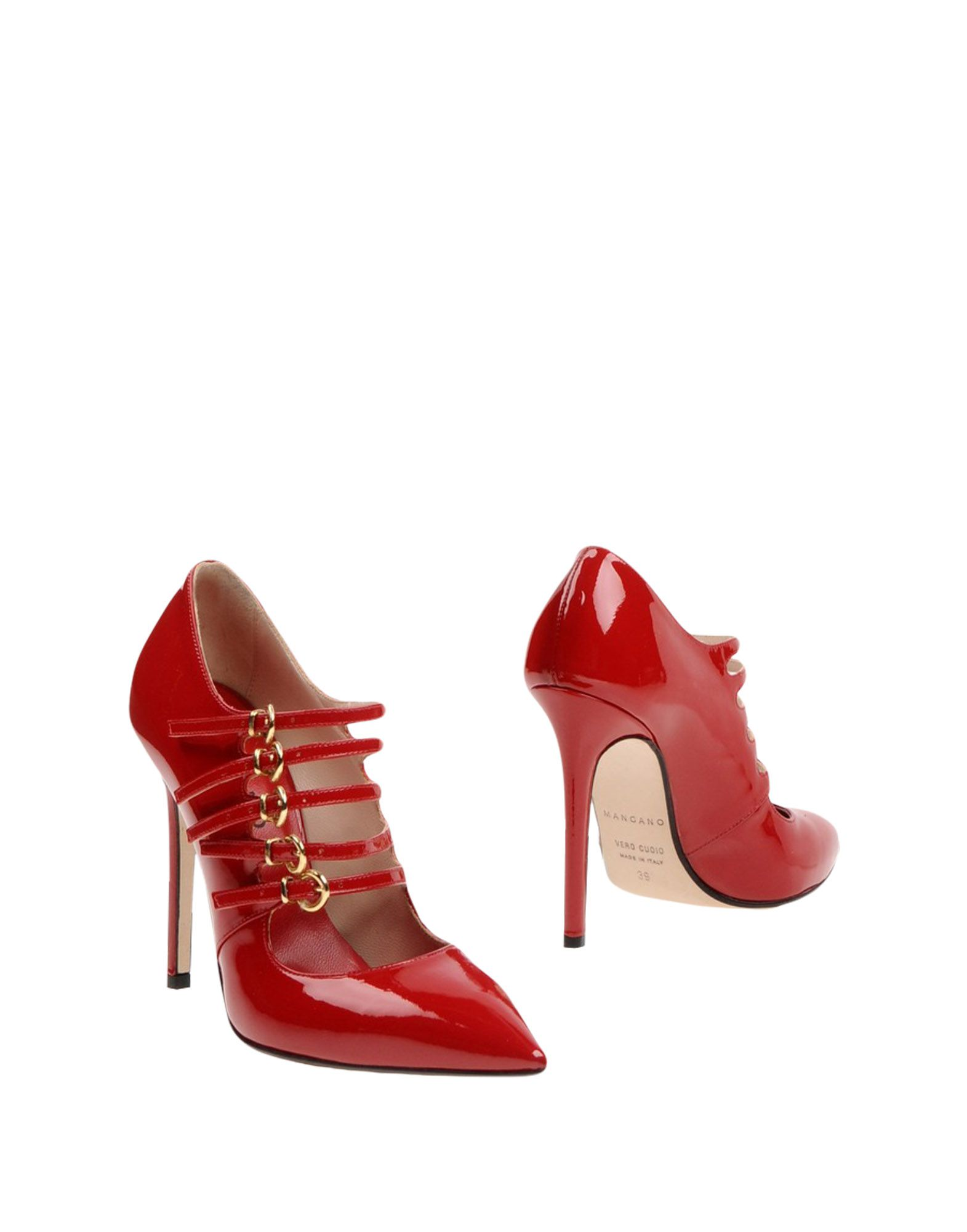 MANGANO Ankle Boot in Red
