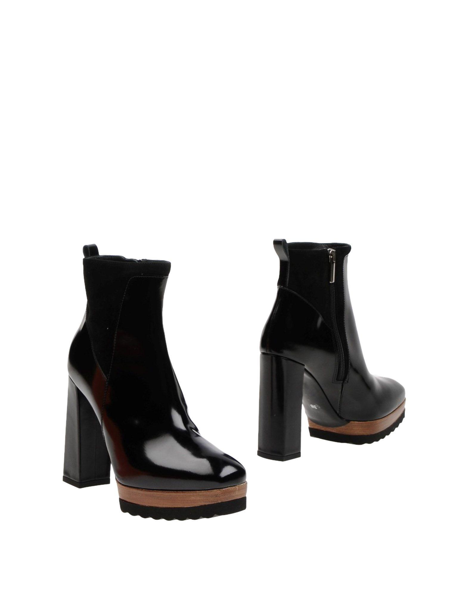 GUIDO SGARIGLIA Полусапоги и высокие ботинки цены онлайн