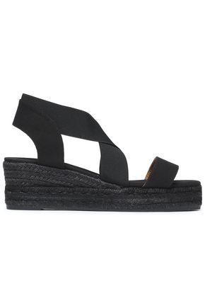 CASTAÑER Canvas wedge espadrille sandals
