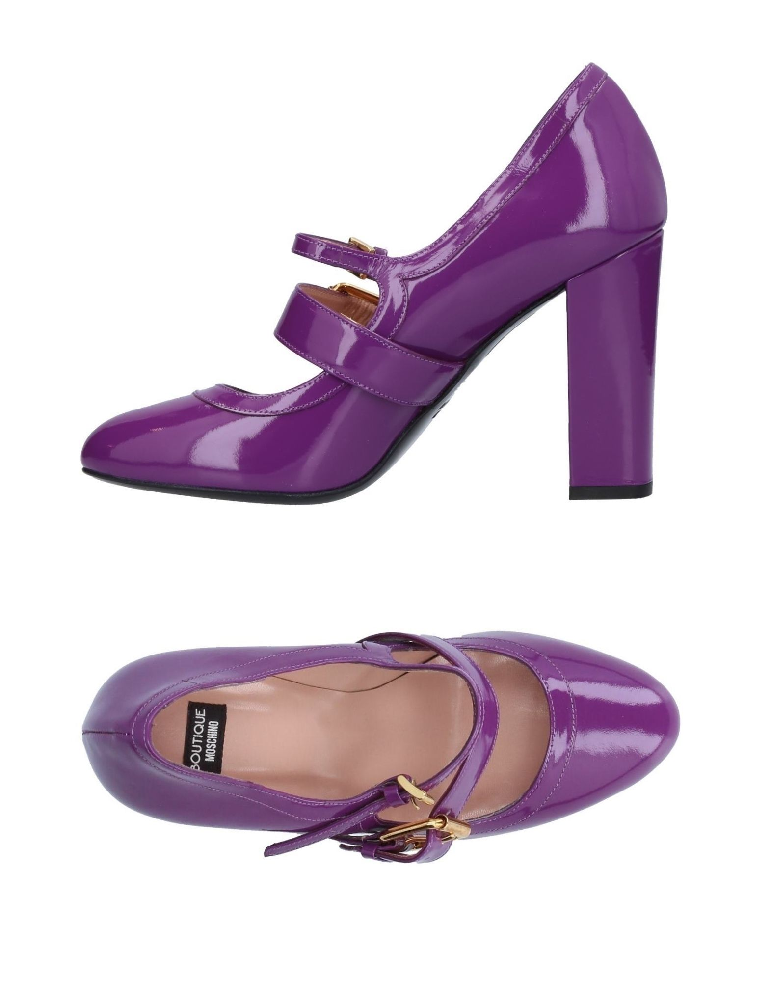 BOUTIQUE MOSCHINO Туфли цены онлайн