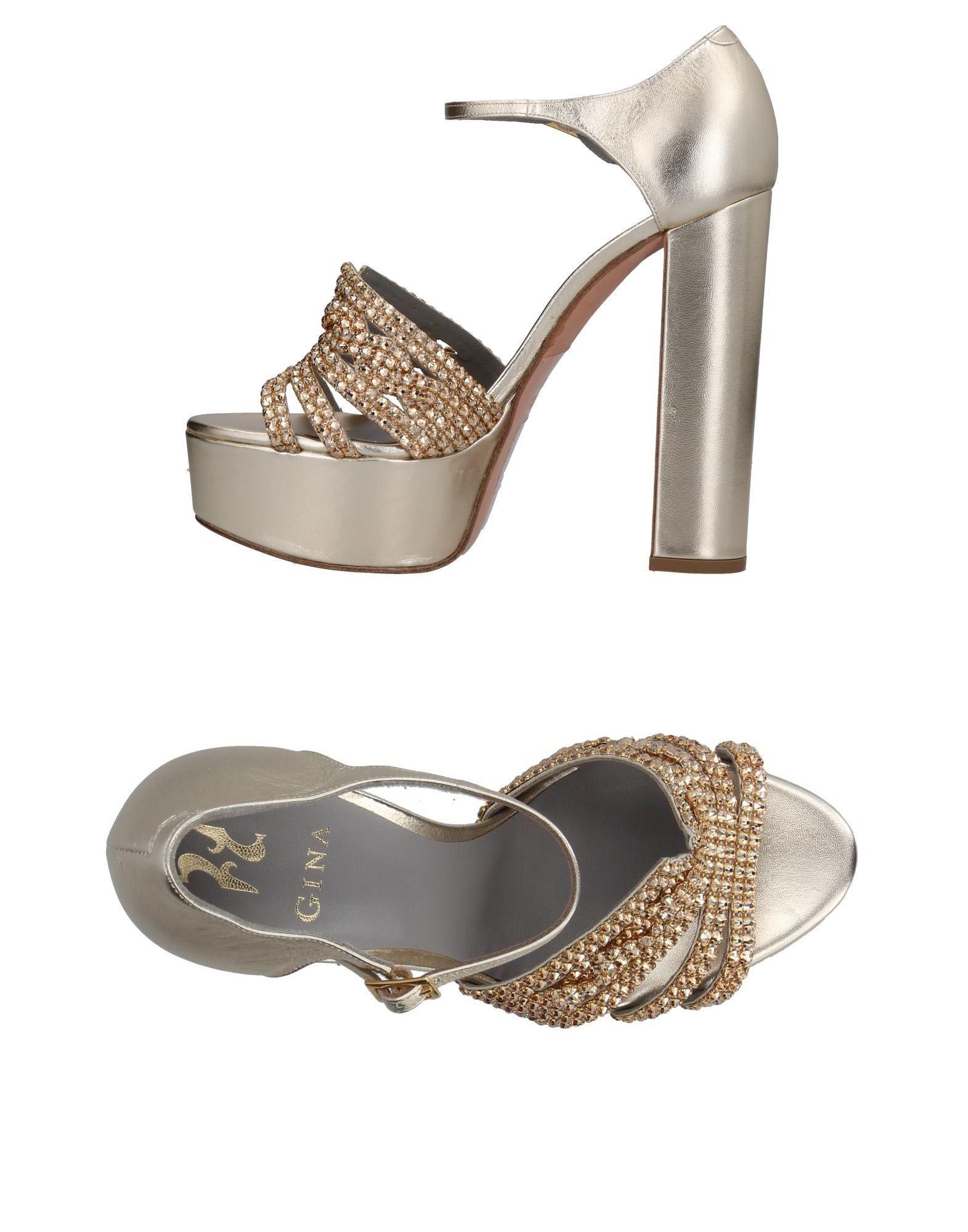 GINA Sandals in Platinum