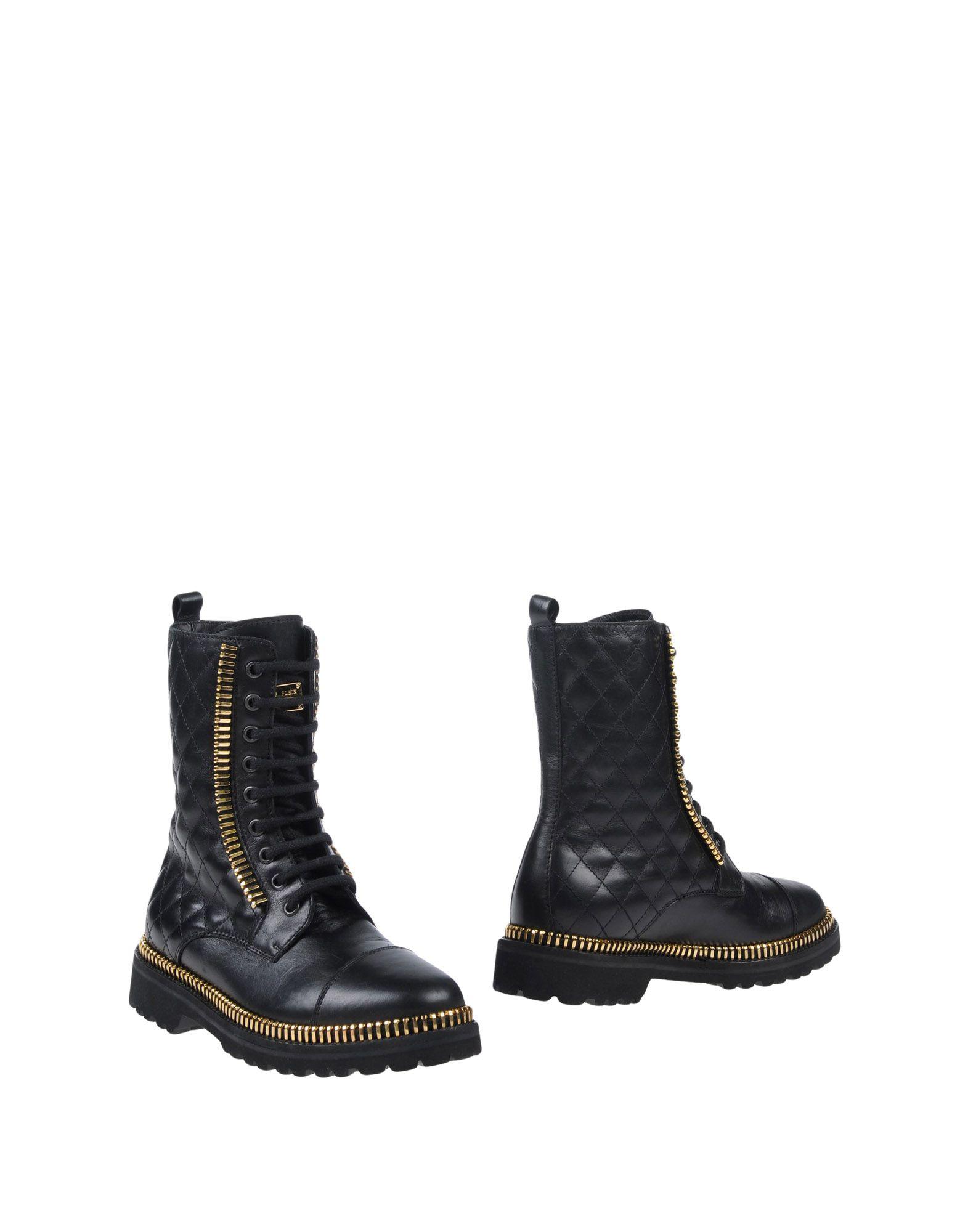 купить PHILIPP PLEIN Полусапоги и высокие ботинки по цене 31650 рублей