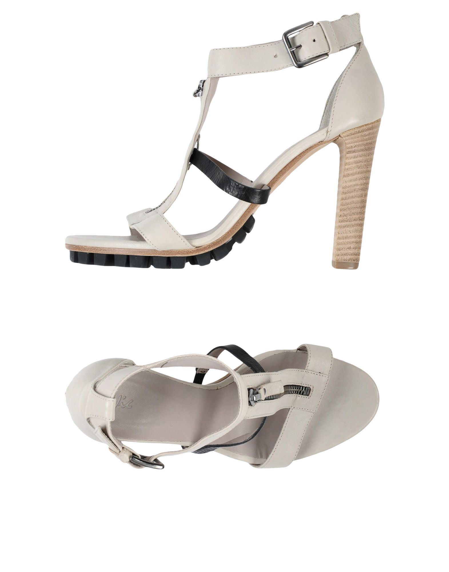 VIC Sandals in Light Grey