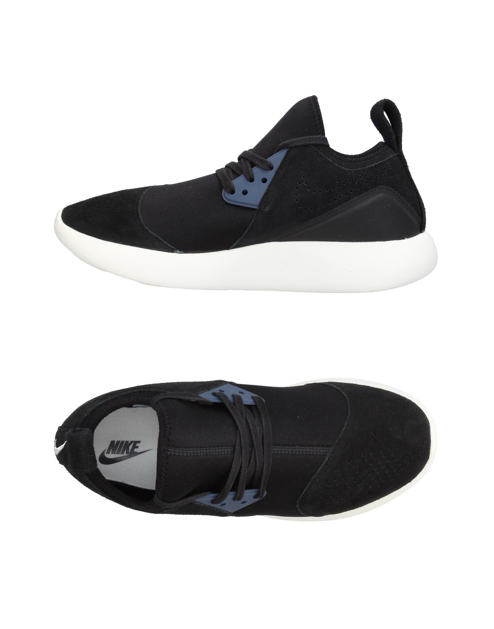 《セール開催中》NIKE メンズ スニーカー&テニスシューズ(ローカット) ブラック 9 紡績繊維 / 革