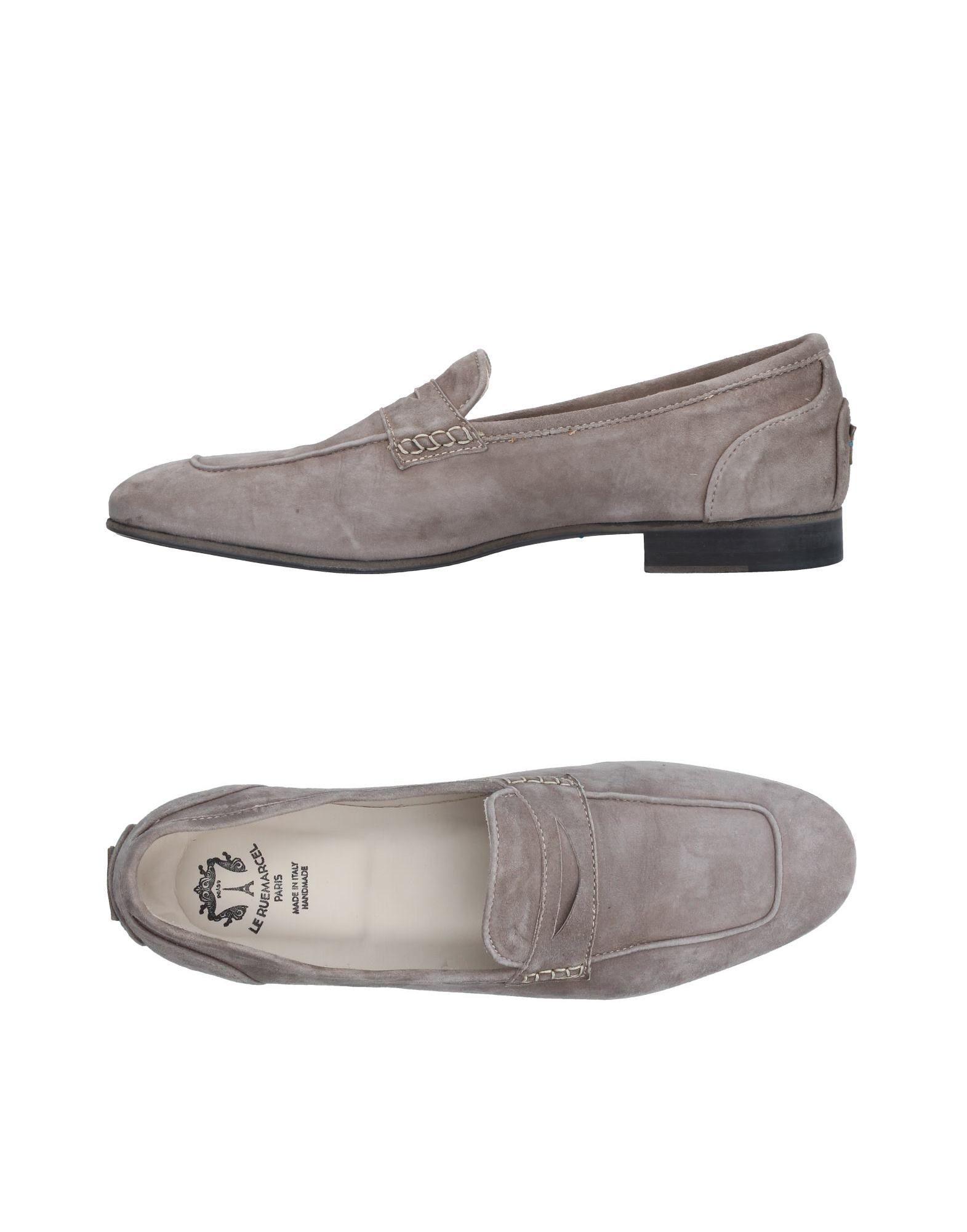 LE RUEMARCEL Loafers in Light Grey