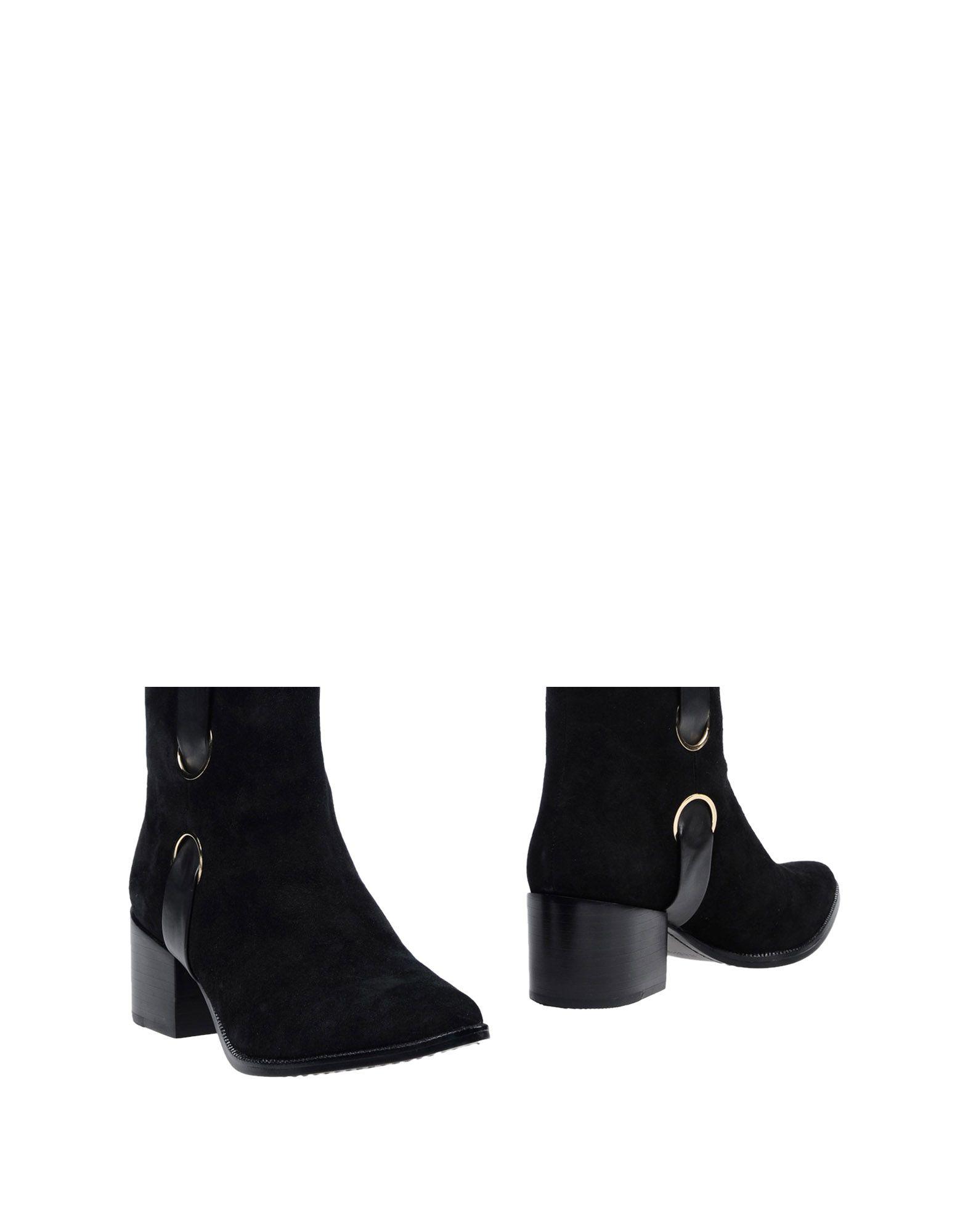RACHEL ZOE Полусапоги и высокие ботинки туфли rachel zoe черный