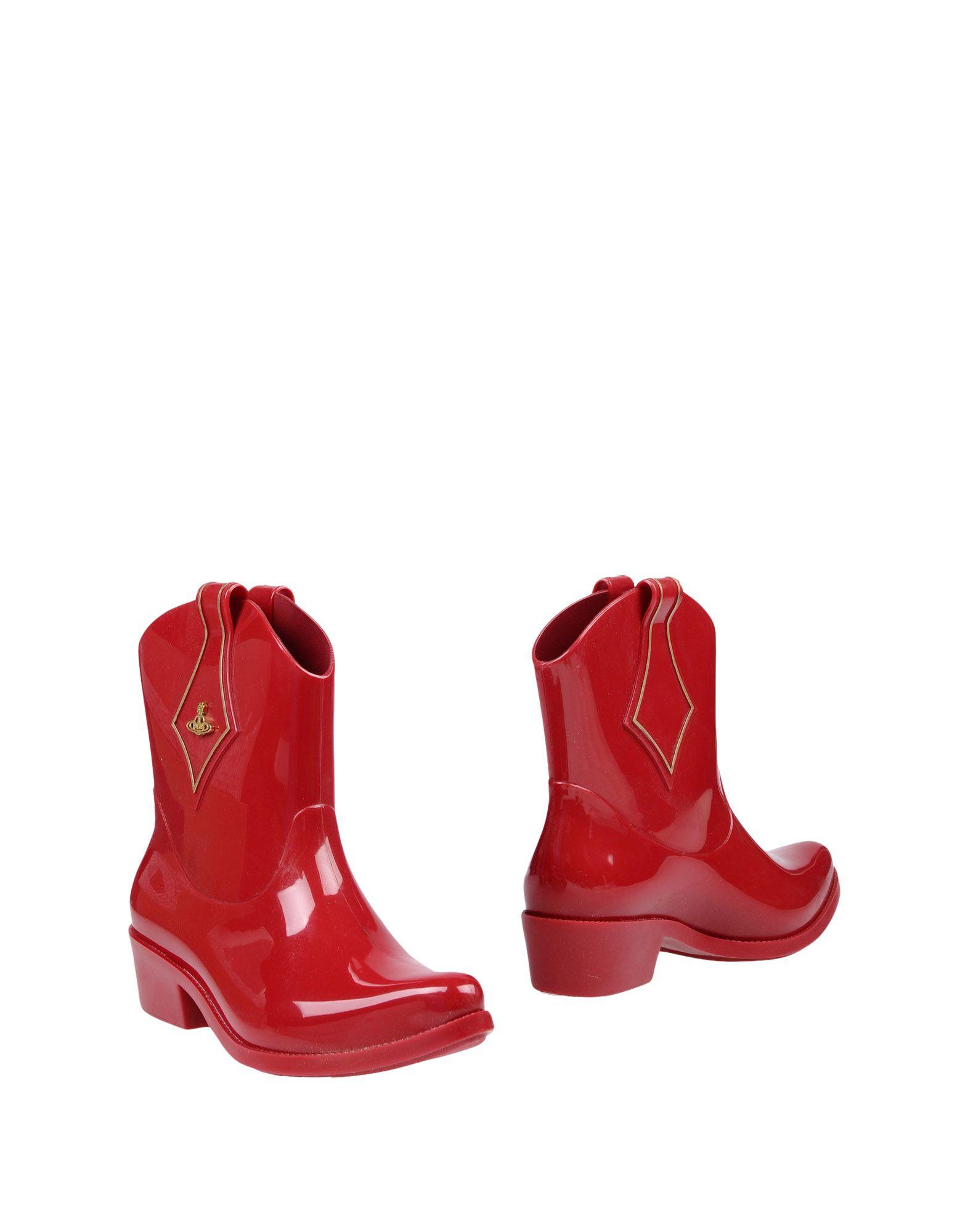 VIVIENNE WESTWOOD ANGLOMANIA + MELISSA Полусапоги и высокие ботинки vivienne westwood anglomania melissa балетки