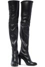 STUART WEITZMAN Leather thigh boots