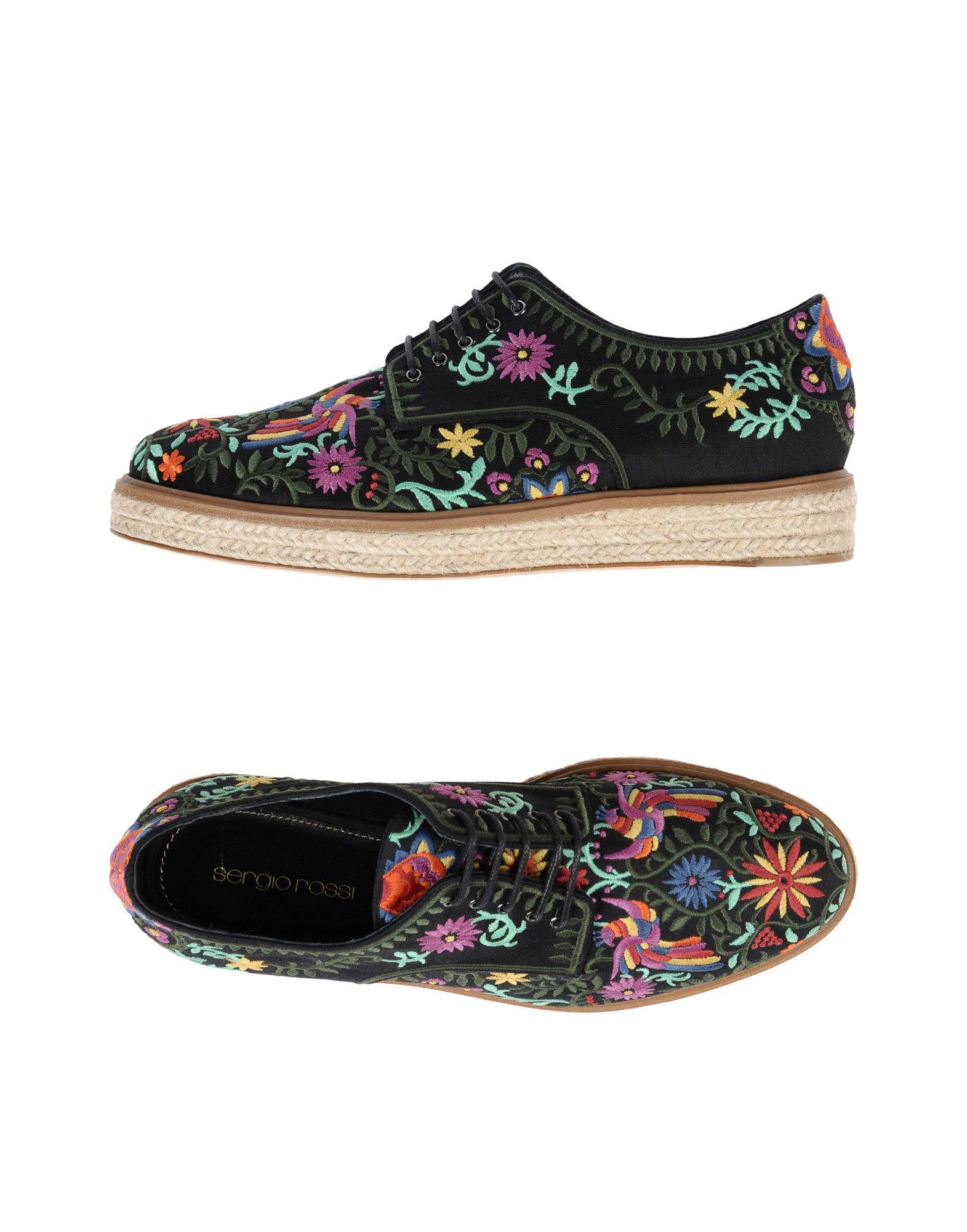 Фото - SERGIO ROSSI Обувь на шнурках обувь на высокой платформе dkny